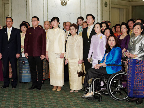 His Majesty The King's 85th Birthday Reception at Cultural Center